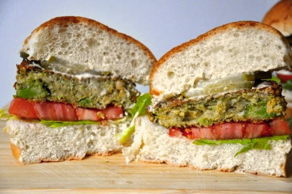 Baked broccoli burgers. Yum! I'm thinking these would be near impossible to make in China, but later!