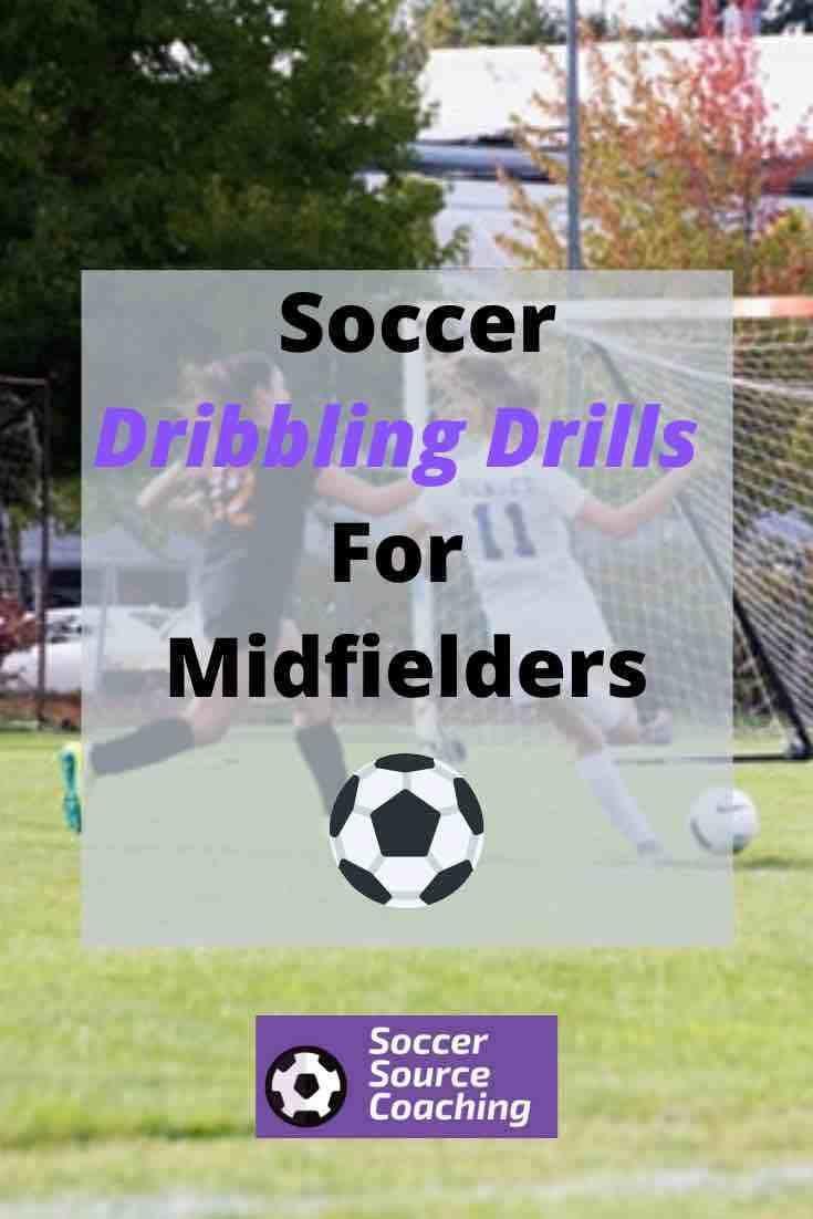 Dribbling Drills In Soccer For Ultimate Ball Control Soccer Source Coaching In 2020 Soccer Dribbling Drills Soccer Drills For Kids Soccer Drills