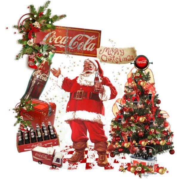"""Coca Cola Santa"" by carolshistoricalgroup on Polyvore"