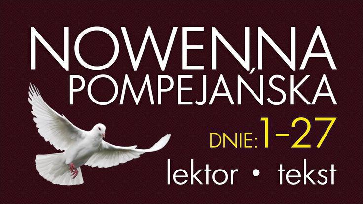 Nowenna Pompejańska - cz. BŁAGALNA   wersja SZYBSZA, z lektorem