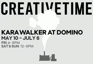 Kara Walker at Domino Sugar Factory - https://art-nerd.com/newyork/kara-walker-at-domino-sugar-factory/