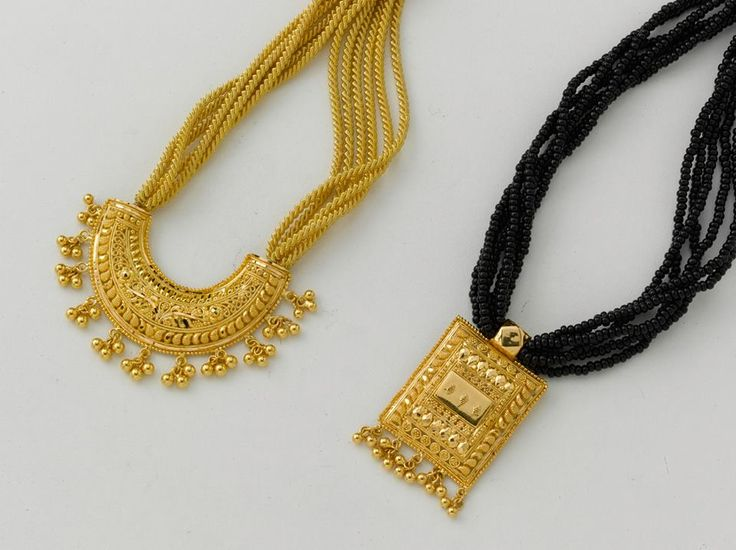 Just Pendant from the gold factory  a) 6.700 gm, Rs. 23, 350/- b) 7.150 gm, Rs. 24, 900/-