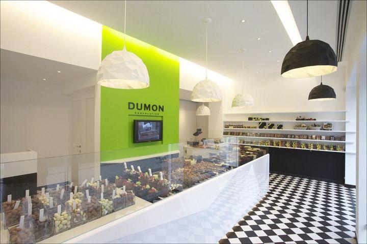 Dumon chocolatier shop by Witblad, Kortrijk – Belgium