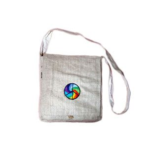 Handmade hemp bag