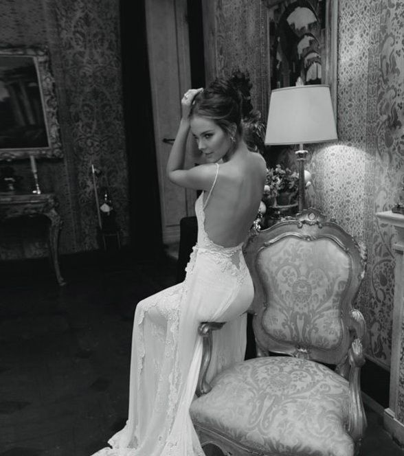 Rochie de mireasa sirena cu spatele gol Imperiale Brand
