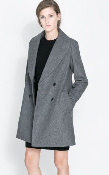 Fashion Double Breasted Wool Jackets-$41.90 FREE SHIPPING