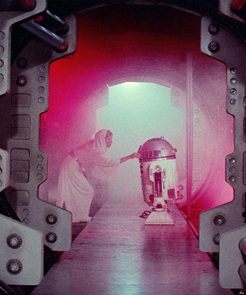 """Help me, Obi-Wan Kenobi.  You're my only hope."""