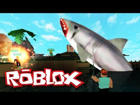 Roblox Adventures / Shark Attack! / Killing the Megalodon!! / Roblox Roleplay - YouTube