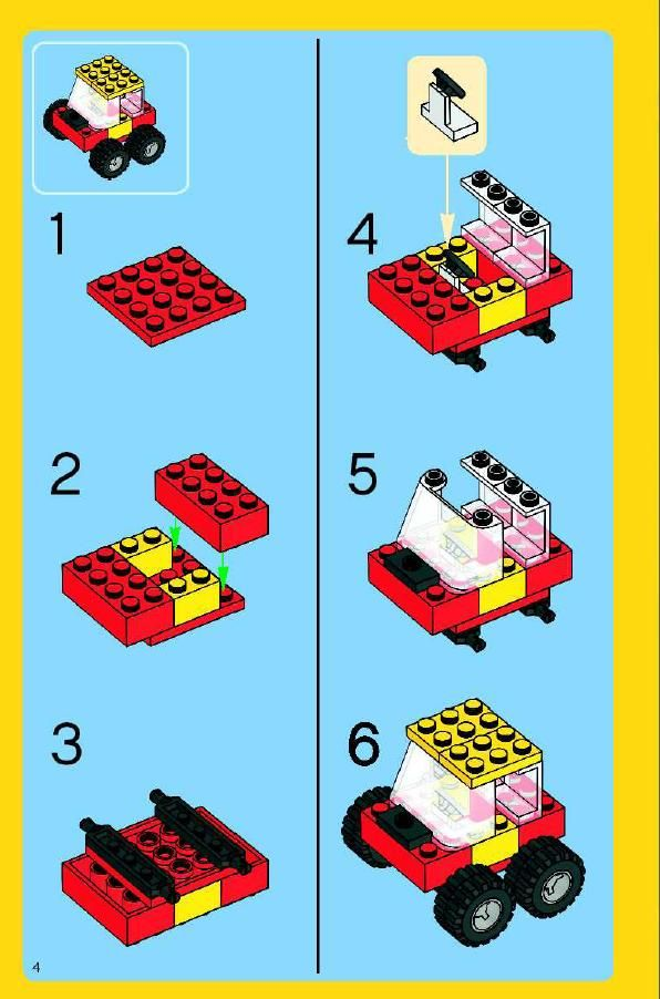 Lego instructions by set
