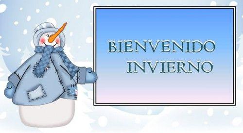 Imágenes de bienvenido invierno para Pinterest las mas lindas