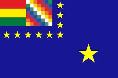 """Reivindicación Marítima El Senado de Bolivia convirtió en ley una iniciativa que declara a la bandera de Reivindicación Marítima emblema del Estado, que """"representa el sentimiento, anhelo y civismo del pueblo boliviano"""" para obtener una salida soberana al océano Pacífico, que La Paz reclama a Chile y por el que existe un litigio en la Corte Internacional de Justicia de La Haya. La nueva ley, establece que la bandera de Reivindicación Marítima debe ser izada en los actos cívicos y culturales…"""