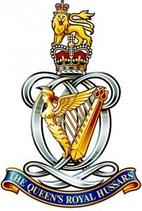 The Queens Royal Hussars.