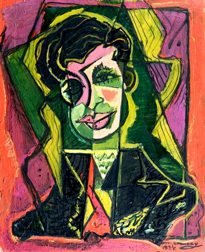 Portrait of Tristan Tzara - M. H. Maxy