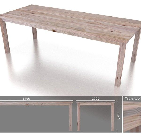 10 Seater Classic Dining Table