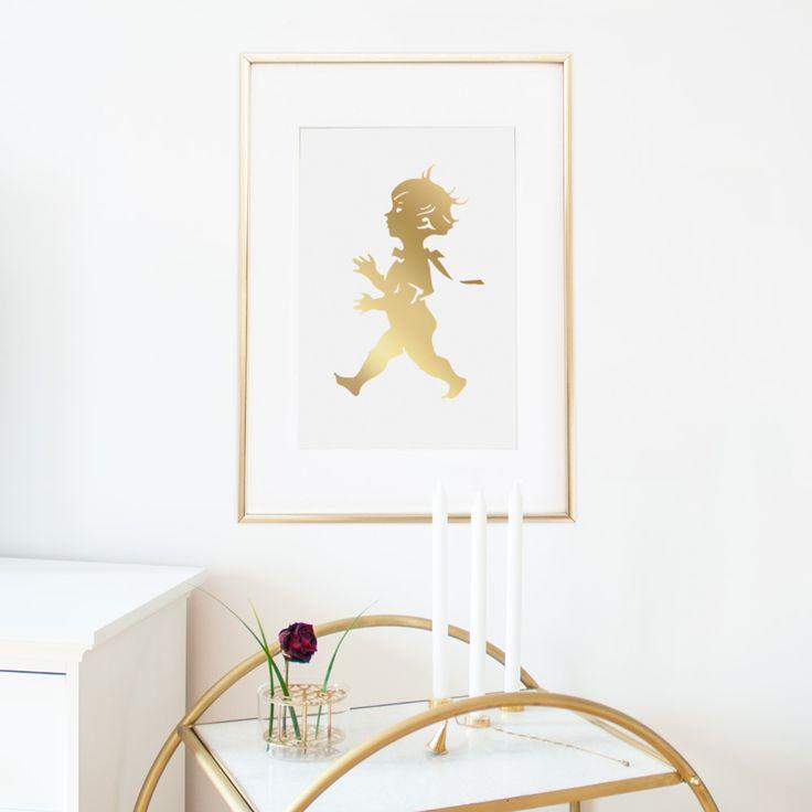 Gold poster-solstickan