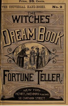 Witches' Dream Book