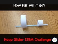 Don't think your special ed students can benefit from STEM activities?  Think again!!  This is a great challenge that your students are sure to enjoy and make some authentic connections.  Read more at:  http://www.oneroomschoolhouse.net/2016/05/hoop-glider.html