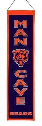 Chicago Bears Wool Man Cave Banner