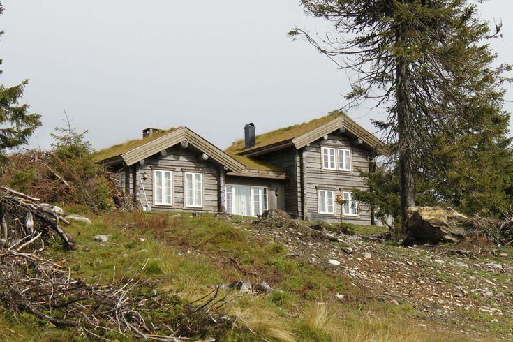 Laftehytte Norwegian cabin