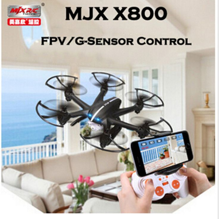 MJX X800 /X800C 2.4G 6-Axis RC Drone Helicopter Can Add C4005 FPV HD Wifi Camera White & Black Syma X5SW X5C Free Shipping //Price: $US $40.55 & FREE Shipping //     #toys