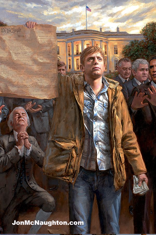 Pin by McNaughton Fine Art on Patriotic and Political Artwork by Jon