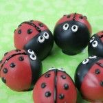 http://blog.candiquik.com/ladybug-cake-bites/