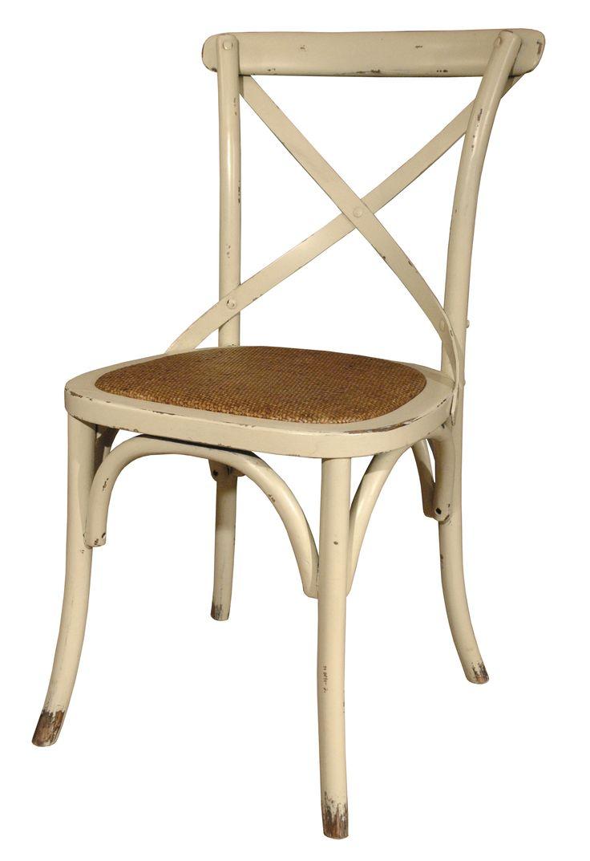 Классический стул с оригинальным плетеным сиденьем. Изготовлен из дуба.  Высота сидения - 46 см             Метки: Венские стулья.              Материал: Дерево.              Бренд: GJstyles.              Стили: Прованс и кантри.              Цвета: Бежевый.