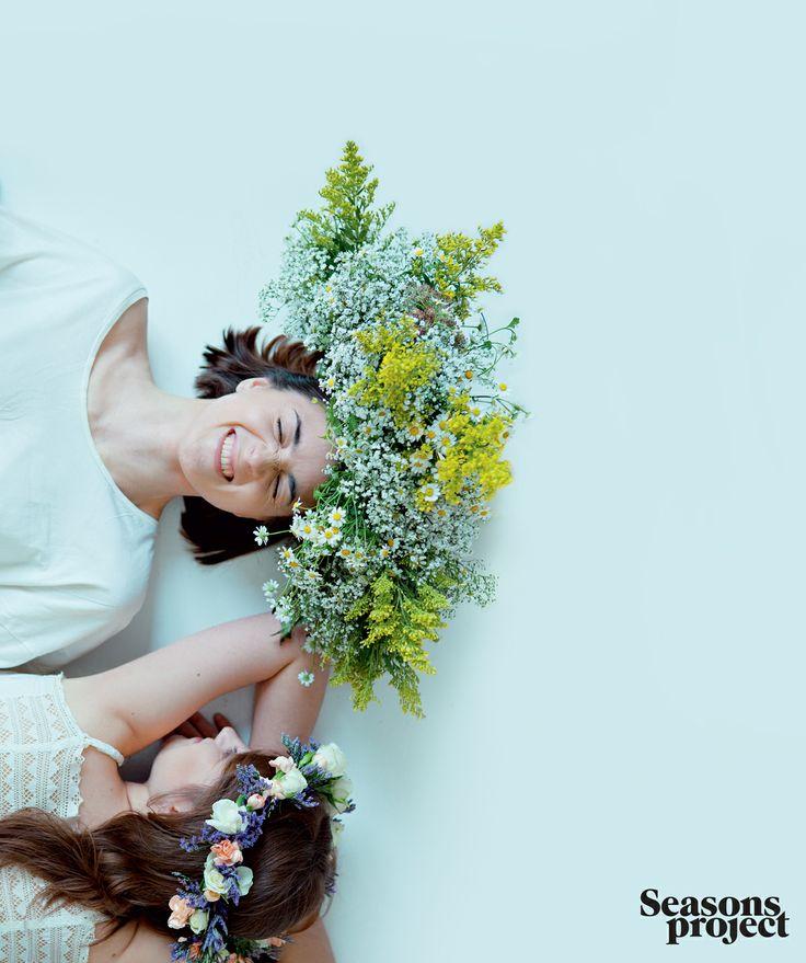 Seasons of life №9 / May-June issue #seasonsproject #seasons #mood #flowers #wreath