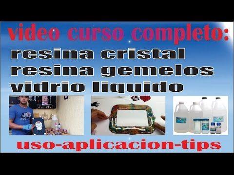 CURSO RESINA GEMELOS, RESINA CRISTAL, VIDRIO LIQUIDO, RESINA EPOXICA. EL MÁS COMPLETO VÍDEO HD - YouTube
