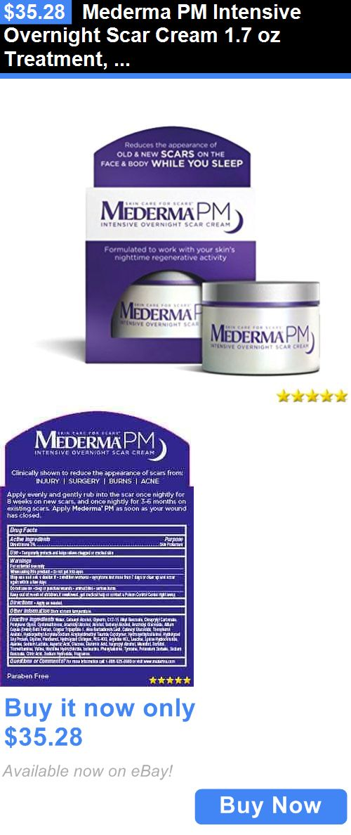 Scar and Stretch Mark Reducers: Mederma Pm Intensive Overnight Scar Cream 1.7 Oz Treatment, Acne, Care, Skin BUY IT NOW ONLY: $35.28