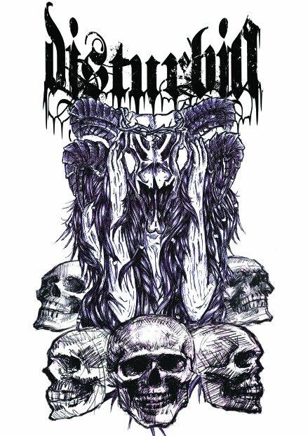 @disturbia_death tees design
