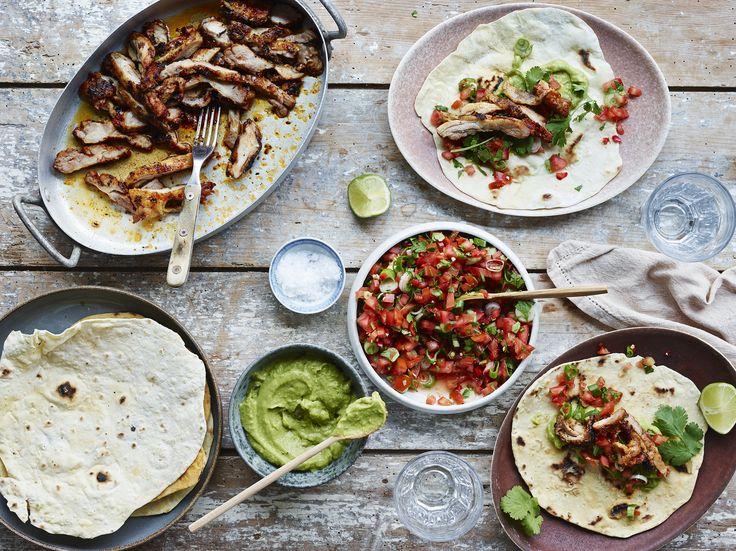 Tacos på grillen, garanterad succé!