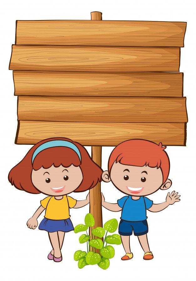 Baground Anak Sekolah : baground, sekolah, Wooden, Board, Vector, #Freepik, #freevector, Background, #banner, #design, #kids, Taman, Anak-anak,, Spanduk,, Sekolah