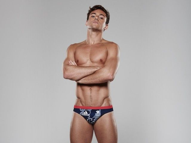 Tom Daley: 'My trunks now fit'