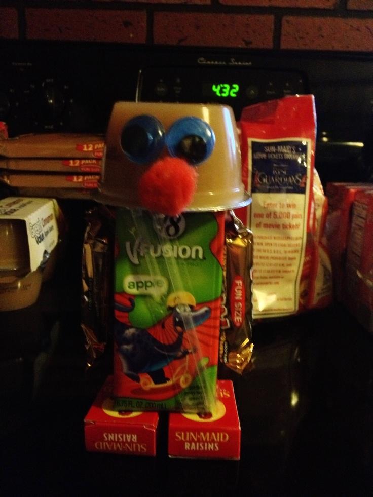 Birthday treat for school!  Robots!