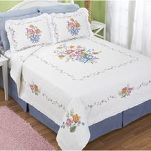 Floral Medley Bed Quilt