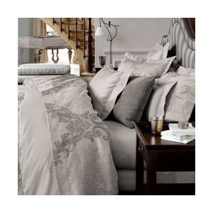 gray: Decor Ideas, Bedrooms Decor Yves, French Linens, Chateau Style, Decor Inspiration, Beds Linens, Baroque Sheet, Delorm Baroque, Bedrooms Ideas