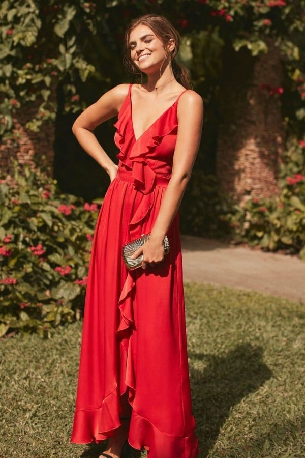 Little Mistress Red Maxi Dress Maxi Dresses Dresses Red Dress