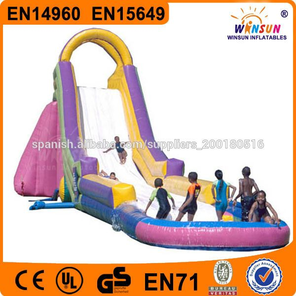Grado comercial deslizamiento Custom tamaño adulto utilizado gigante tobogán inflable-Camas Elásticas-Identificación del producto:3000024757...