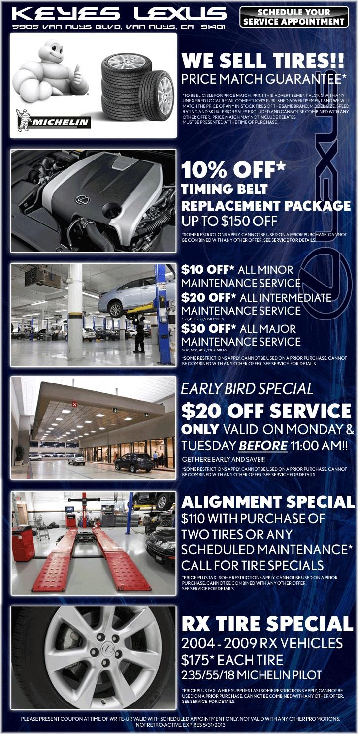 Lexus service specials keyes_lexus_specials service_specials lexus_service parts_specials