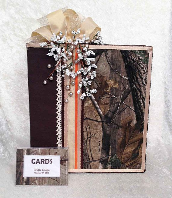 CamoCamo WeddingCamo Card BoxWedding BoxCamo Wedding RingsCamo DressCamo InvitationsCamo Decorations