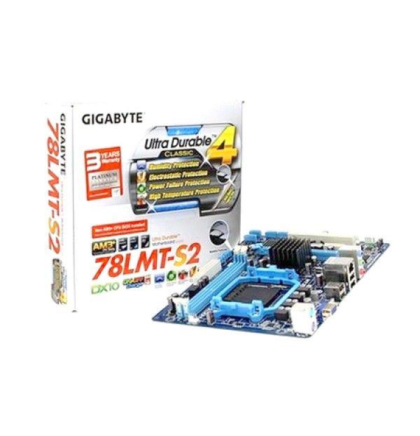 PLACA MAE SOCKET AMD AM3+ GIGABYTE GA-78LMT-S2 MICRO ATX AMD AM3/AM3+ DDR3 1333MHZ S/R GBE