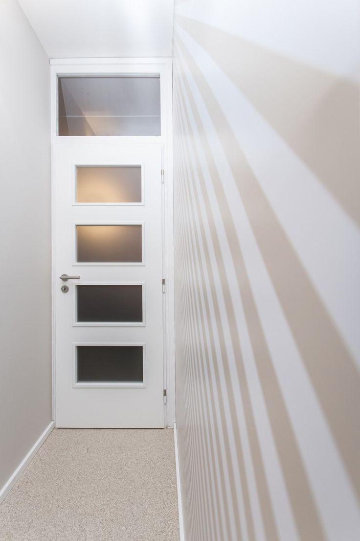 Dvere do spálne so svetlíkom