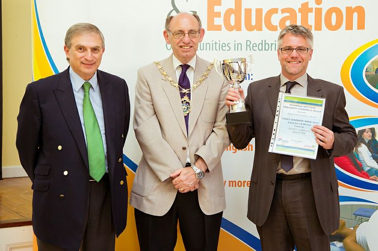 The Family Learning Champion Cup was awarded to Aldersbrook Primary School