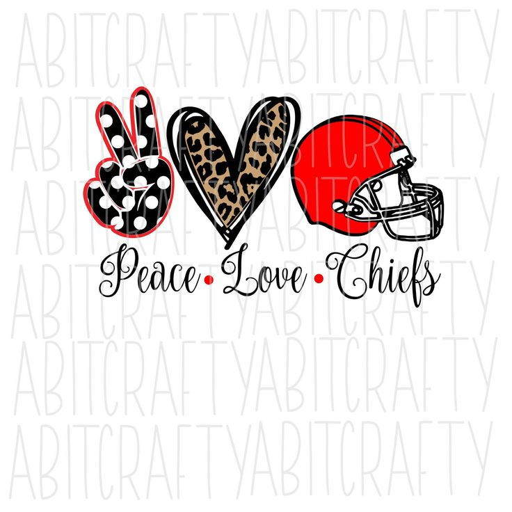 Download Peace, Love, Football SVG/PNG/JPEG/Sublimation, digital ...