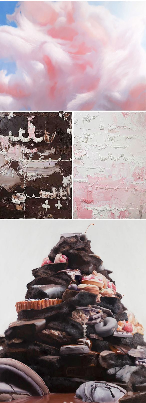 yummy oil on linen paintings by will cotton