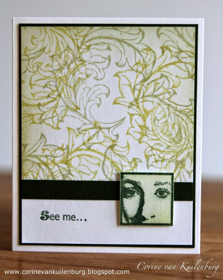 Corine's Gallery: Easy cards with Art Journey stamps