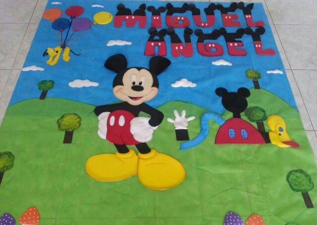 Mural de mickie