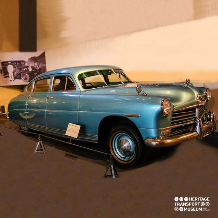 The Hudson Commodore with a unique body style called 'Step down unibody model'! #hudsoncommodore #vintagecars #vintagecollection #transportmuseum