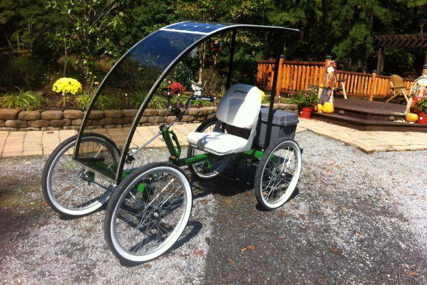 SOLARped P1 Eco-Friendly Car #eco-friendlycars